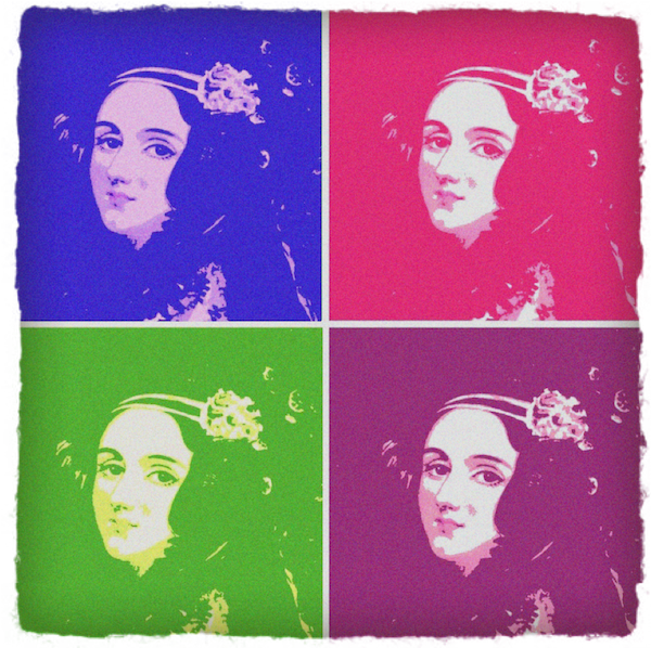 Ada Lovelace Pop Art