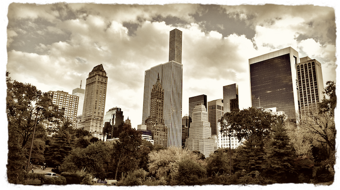New York from Central Park