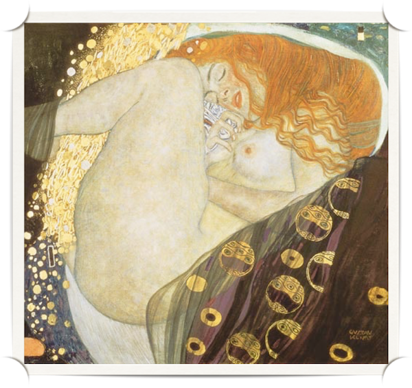 Danae by Klimt